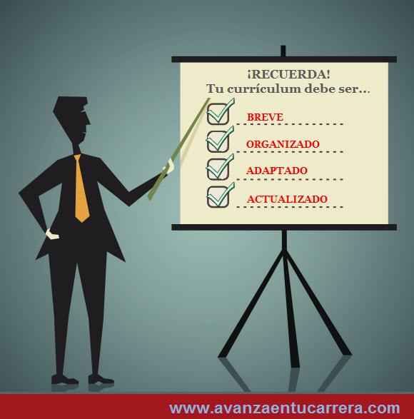 Claves para hacer un buen currículum
