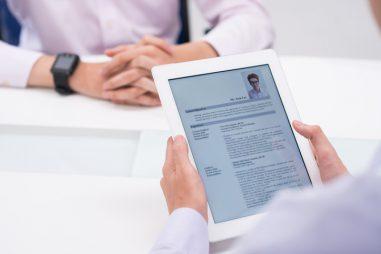Trucos para realizar un CV online