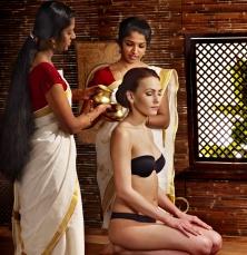 ayuvedico masaje