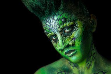 Caracterización y maquillaje profesional